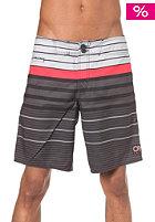ONEILL Stripe Retro Boardshort black/aop w. red