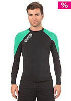 ONEILL Superfreak 0,5mm L/S Crew black/clean green/white