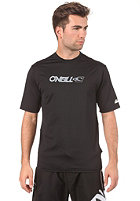 ONEILL UV Protection Skins  S/S Rash Tee black