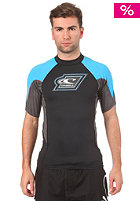 ONEILL UV Protection Skins Teamrider S/S Crew black/anthracite/dresden blue