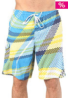 ONEILL Wavy Check Boardshorts blue aop w/ yellow