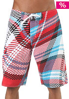ONEILL Wavy Check Boardshorts white/aop/red