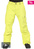 52 Series Hammer II Snow Pant poison/yellow