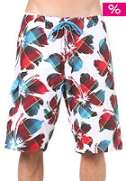 ONEILL WETSUITS Floater Boardshort white/aop w. red