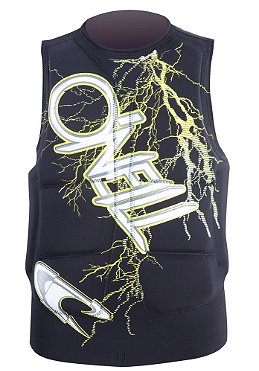 ONEILL WETSUITS Gooru Padded Comp Vest blacktron/yellow