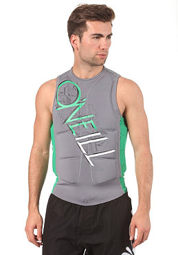 ONEILL WETSUITS Gooru Padded Vest smoke/clean green