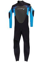 ONEILL WETSUITS Kids Epic 4/3mm Wetsuit blk/tahiti/fathblue