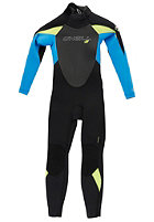 ONEILL WETSUITS Kids Epic 4/3mm Wetsuit blk/tahiti/lime