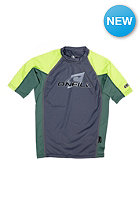 ONEILL WETSUITS Kids Skins S/S Crew graph/combat/lime