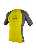 ONEILL WETSUITS Kids Skins S/S Crew ylw/graph/graph