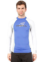 ONEILL WETSUITS Skins L/S Crew Lycra pac/flint/wht
