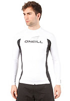 ONEILL WETSUITS Skins L/S Crew Lycra wht/blk/wht