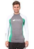 ONEILL WETSUITS Skins L/S Crew smoke/clean green/white