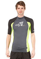 ONEILL WETSUITS Skins S/S Crew Lycra graph/lime/blk