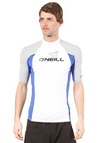 ONEILL WETSUITS Skins S/S Crew Lycra wht/pac/flint