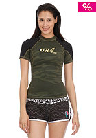 ONEILL WETSUITS Womens Bahia 0.5mm L/S Crew camo/black