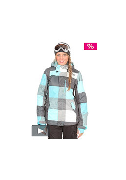ONEILL WETSUITS Womens Escape Abalone Jacket blue/aop