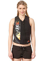 ONEILL WETSUITS Womens Flare Comp Vest black/graphite/black