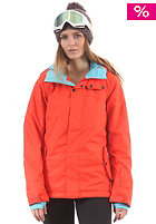 ONEILL WETSUITS Womens Frame Snow Jacket paprika red