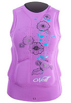 ONEILL WETSUITS Womens Gooru Padded Vest iris/riviera