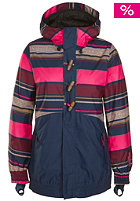 ONEILL WETSUITS Womens Nobility Jacket pink aop