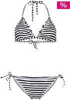 ONEILL WETSUITS Womens Palmtrees Triangle B-Cup Bikini Set white aop