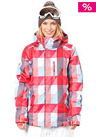 ONEILL WETSUITS Womens Pwes Cats Eye Snow Jacket red/aop 5
