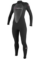 ONEILL WETSUITS Womens Reactor 3/2 Full Wetsuit black/black/black