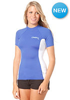 ONEILL WETSUITS Womens Skins S/S Crew Lycra pac/wht/pac