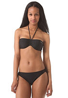 ONEILL WETSUITS Womens Solid Bandeau C-Cup Bikini Set black out