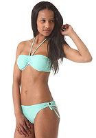 ONEILL WETSUITS Womens Solid Bandeau C-Cup Bikini Set cascade