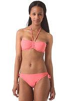 ONEILL WETSUITS Womens Solid Bandeau C-Cup Bikini Set porcelain rose