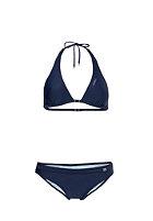 ONEILL WETSUITS Womens Solid Halter D-Cup Bikini Set blue print