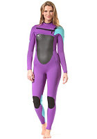 ONEILL WETSUITS Womens Superfreak Fz 3/2 uv/ltaqua/blk