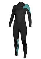 ONEILL WETSUITS Womens Superfreak Fz 5/4 Wetsuit blk/spyglass/lunar