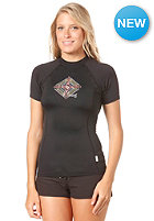 ONEILL WETSUITS Womens Tahiti S/S Crew Lycra blk/blk