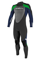 ONEILL WETSUITS Youth Epic 5/3 2012 black/musclenavy/cleangreen