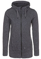 ONEILL Womens Amber Hooded Zip Fleece Jacket black out