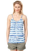 ONEILL Womens Aqua Stripe Tanktop white aop