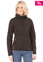 ONEILL Womens Azurite Hyperfleece Jacket black/aop/black