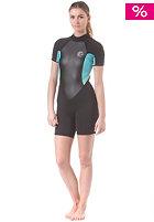 ONEILL Womens Bahia S/S Spring Wetsuit blk/ltaqua/spyglass