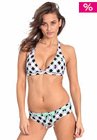 ONEILL Womens Checkmaid Halter C-Cup Bikini white/aop