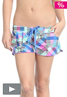 Womens Checkmaid Shorty pink/aop