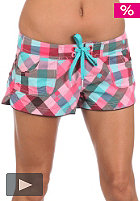 ONEILL Womens Checkmaid Shorty red/aop