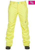 ONEILL Womens Comet Snow Pant lime yellow