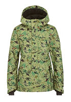 ONEILL Womens Crystal Snowboard Jacket white aop