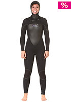 ONEILL Womens D�LUX Mod 5/4mm Hooded Wetsuit black/black