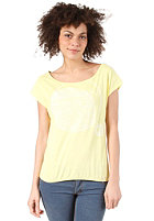 ONEILL Womens Dani S/S T-Shirt light yellow
