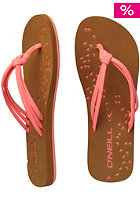 ONEILL Womens Ditsy Sandal coral reef