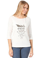ONEILL Womens Dycke L/S T-Shirt powder white